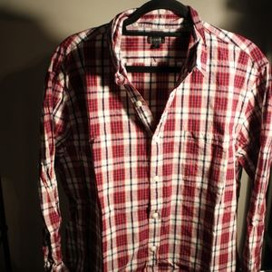 Men's J. Crew Plaid Button Down